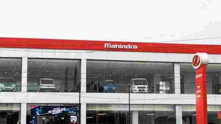 Mahindra&Mahindra Q3在159.6卢比下巩固了6%