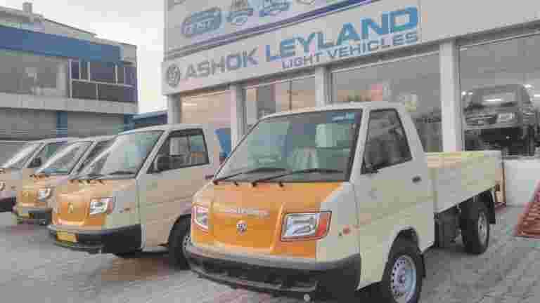 Ashok Leyland 2月销售额上涨19%,同比为13,703个单位
