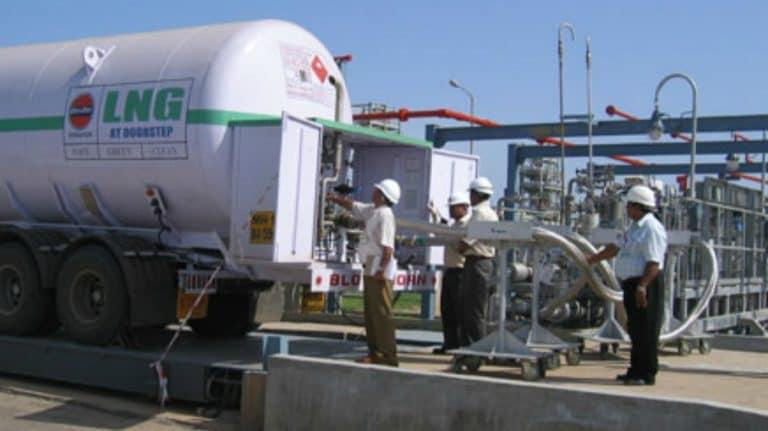 以下是印度现有和提出的LNG终端
