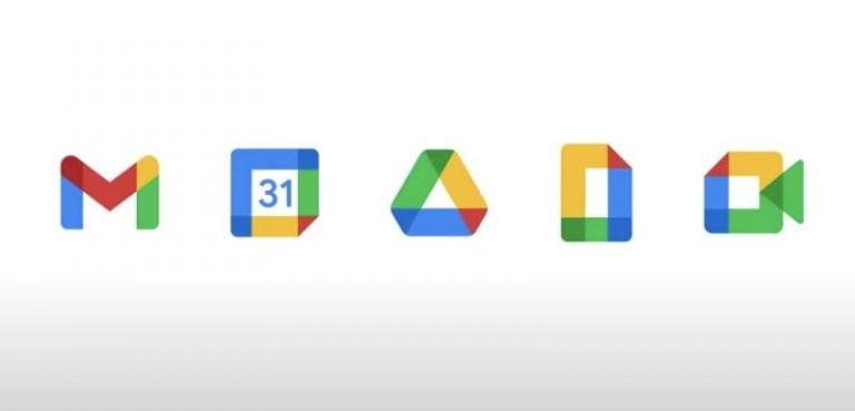 谷歌的新Gmail标志挖掘信封; G套房重新考虑计划的新徽标部分