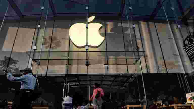 Apple India净利润在FY20到Rs 926亿卢比缩小253%
