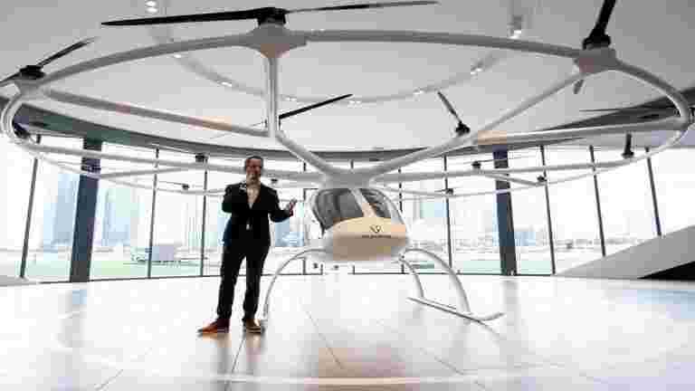 Air Taxi公司卷发架与Schenker一起队伍部署了沉重的无人机