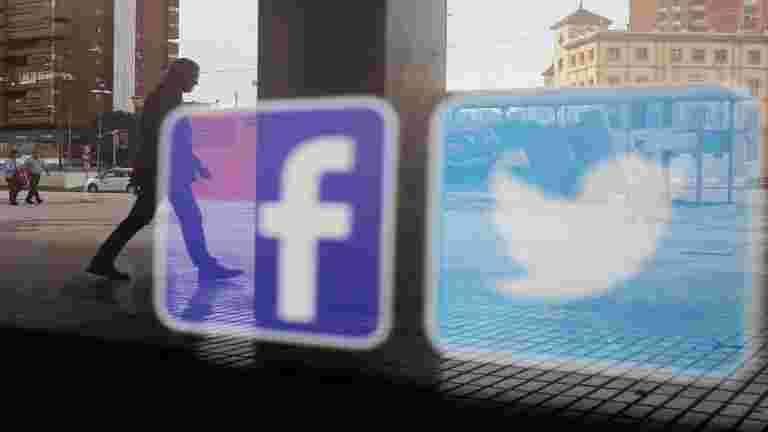 Facebook,Twitter违反了有害内容的较小平台:机构