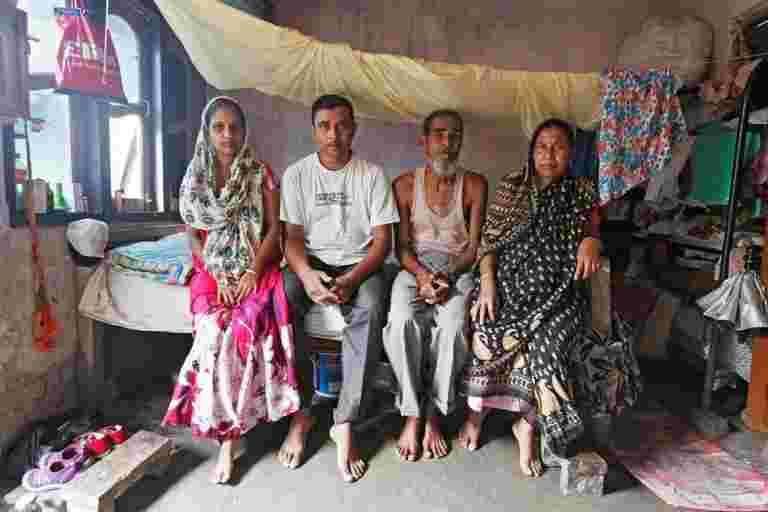 在印度的公民身份测试中,拼写错误可能会破坏一个家庭