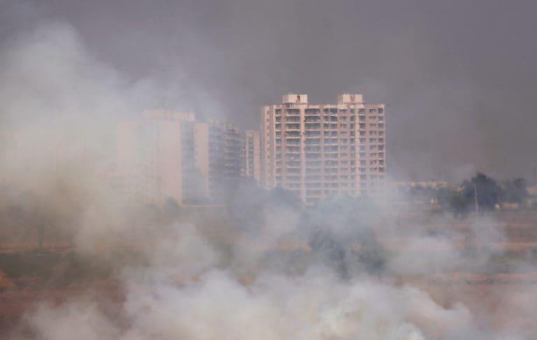 空气污染比法里达巴德的安全极限高25倍