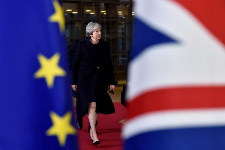 英国PM Theresa May:摆脱我的风险延迟Brexit